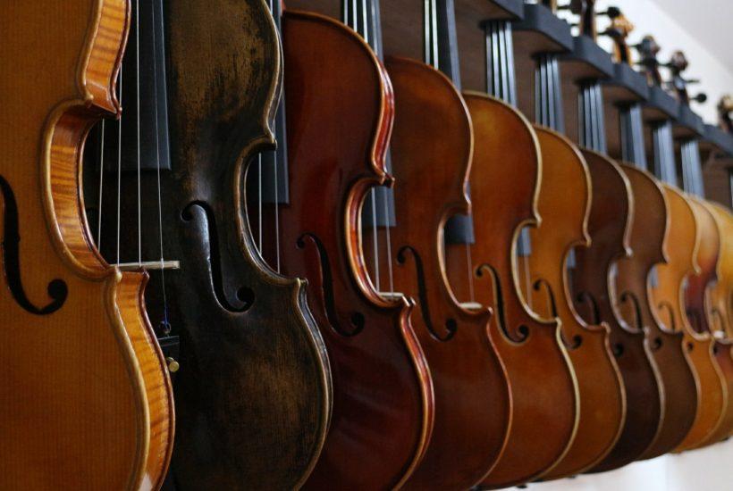 ヴァイオリンを選ぶ