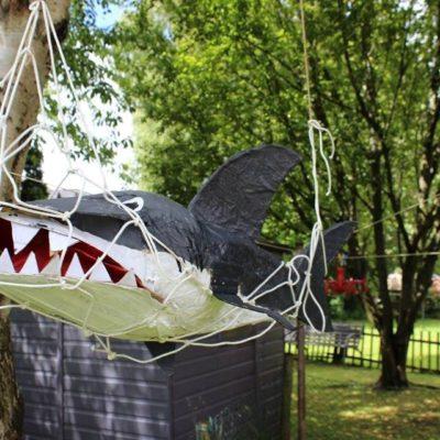 サメ大好き!家族で作るシャークのバーステーパーティー!