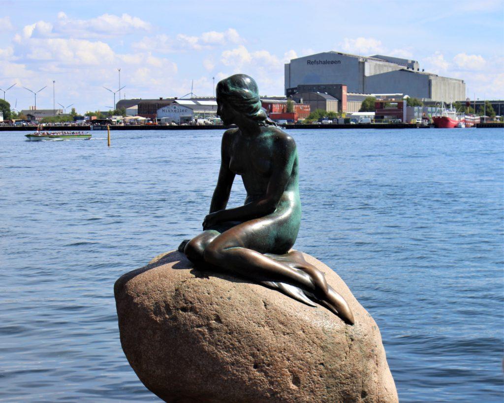 コペンハーゲンの人魚姫