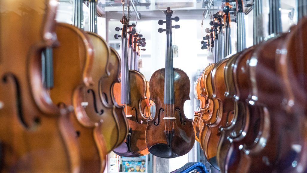 私の新しいパートナー:モダン・イタリアンヴァイオリンのSiega