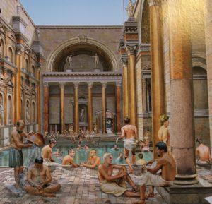 ローマ人たちにとって公衆浴場は社交の場