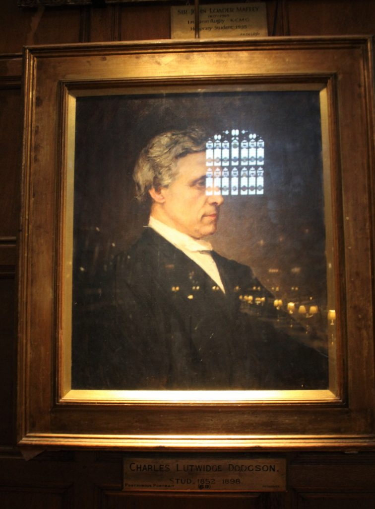 ルイスキャロルの肖像画