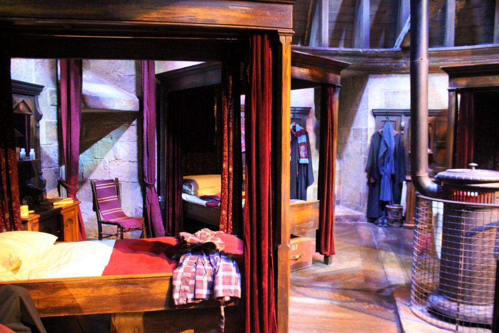グリフィンドールの寝室