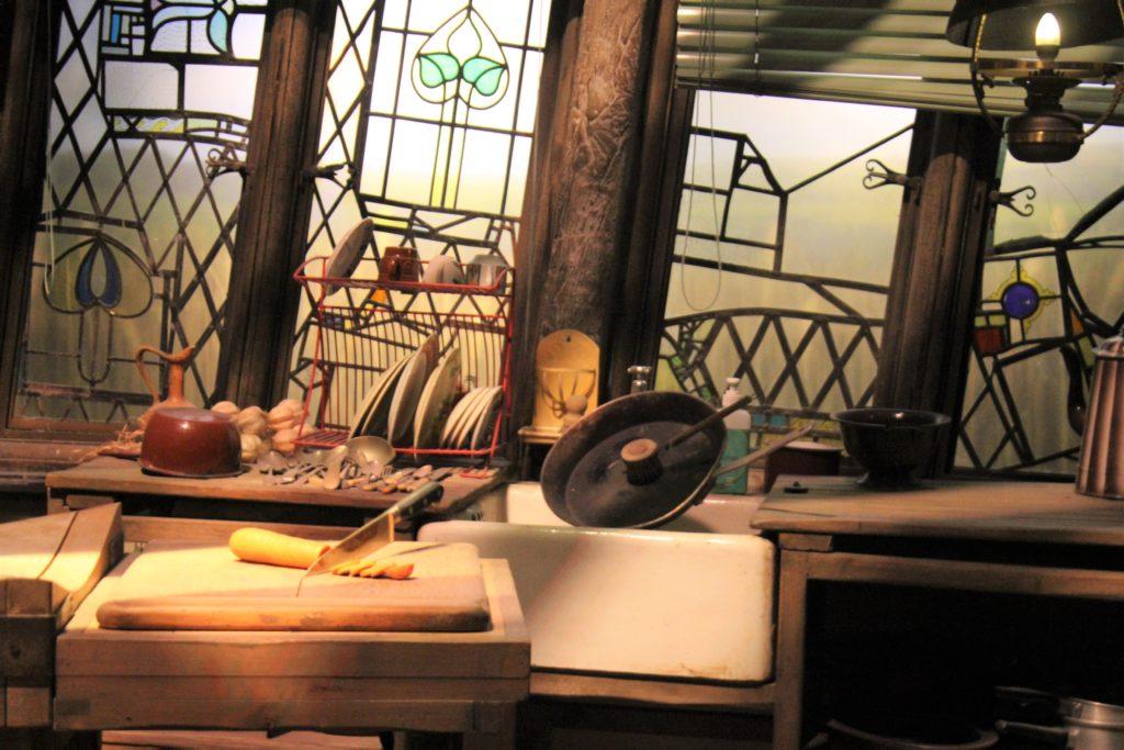 ロンの家のキッチン