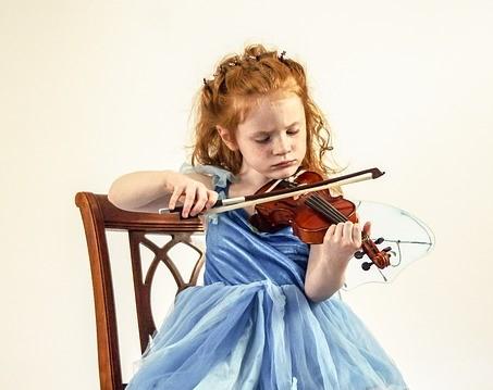 ヴァイオリンビギナーは体が痛くなる。