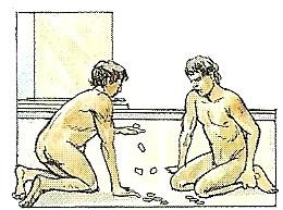 ローマの公衆浴場のジム