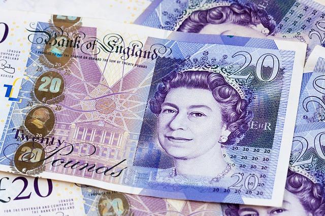 イングランドのお金