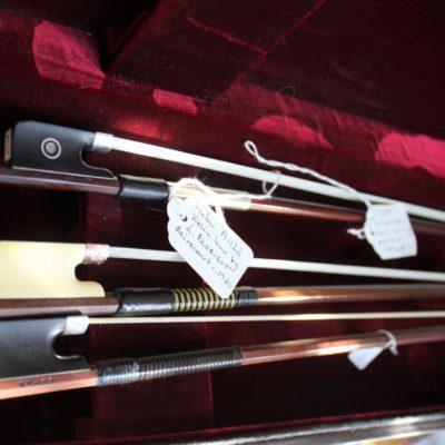 フランス、イギリス、ドイツ製のバイオリンの弓を値段で比較してみた