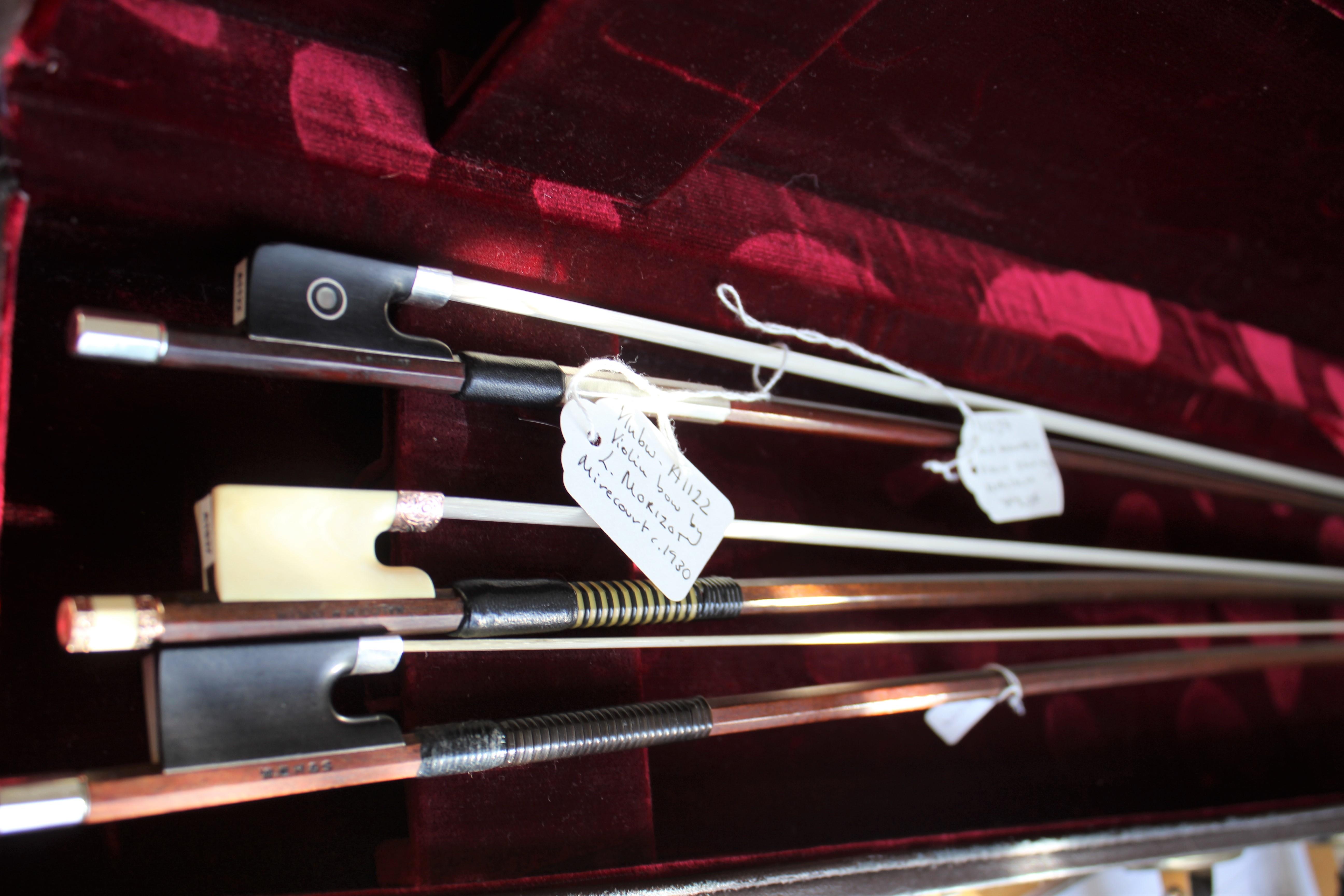 ヴァイオリンの弓