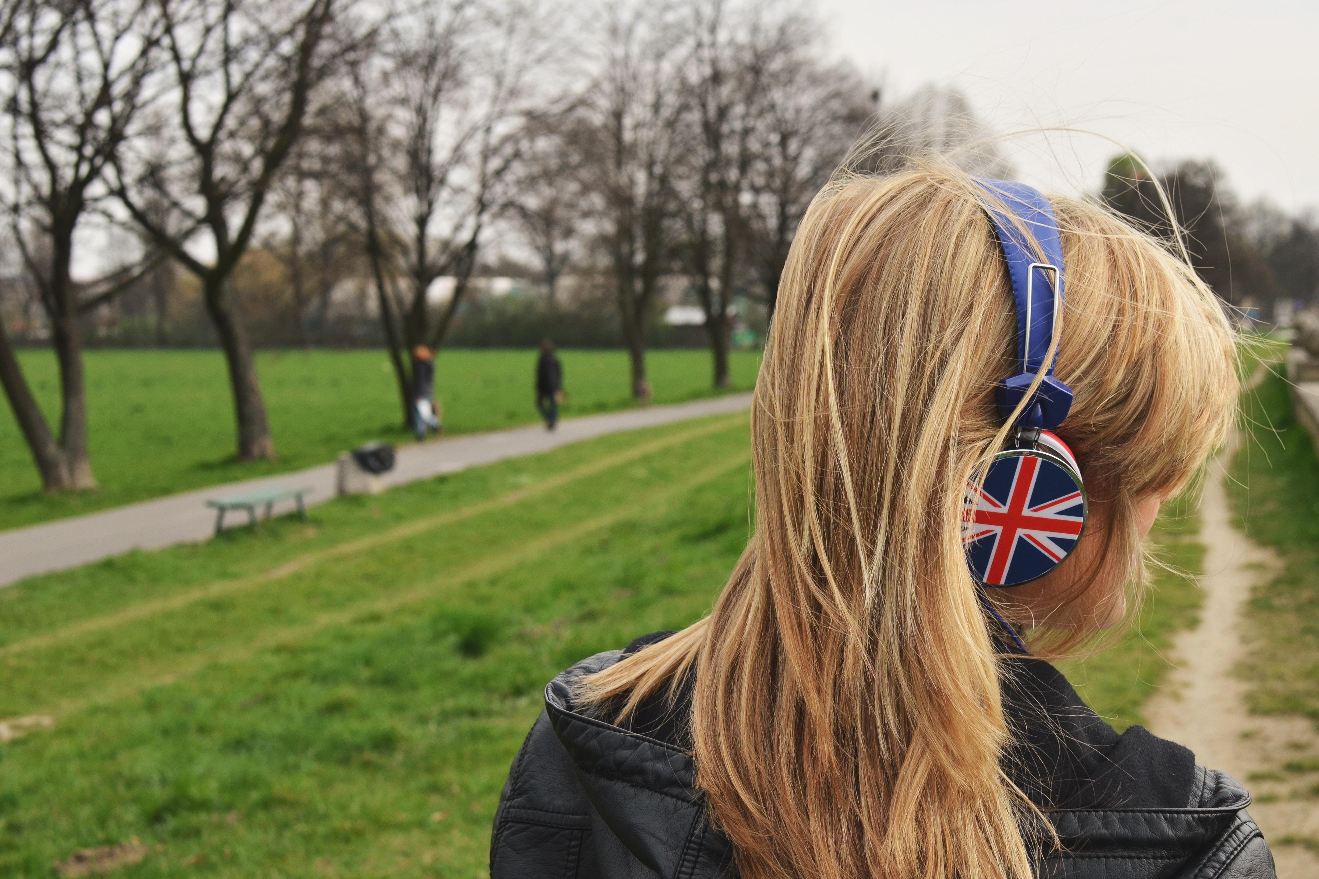 イギリス人の女の子