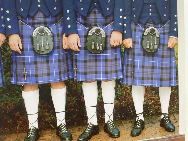 スコットランドのキルト