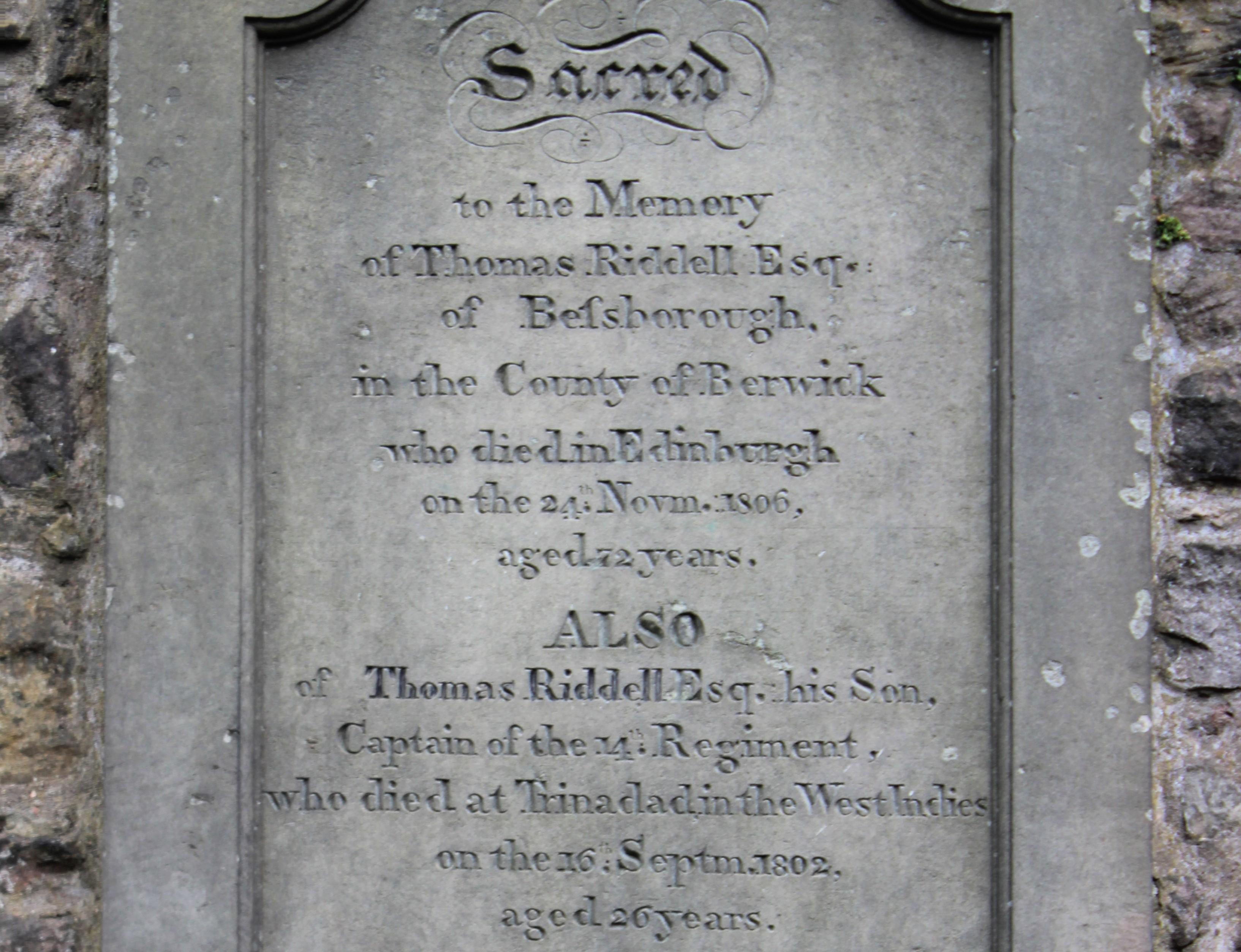 トムリドルの墓