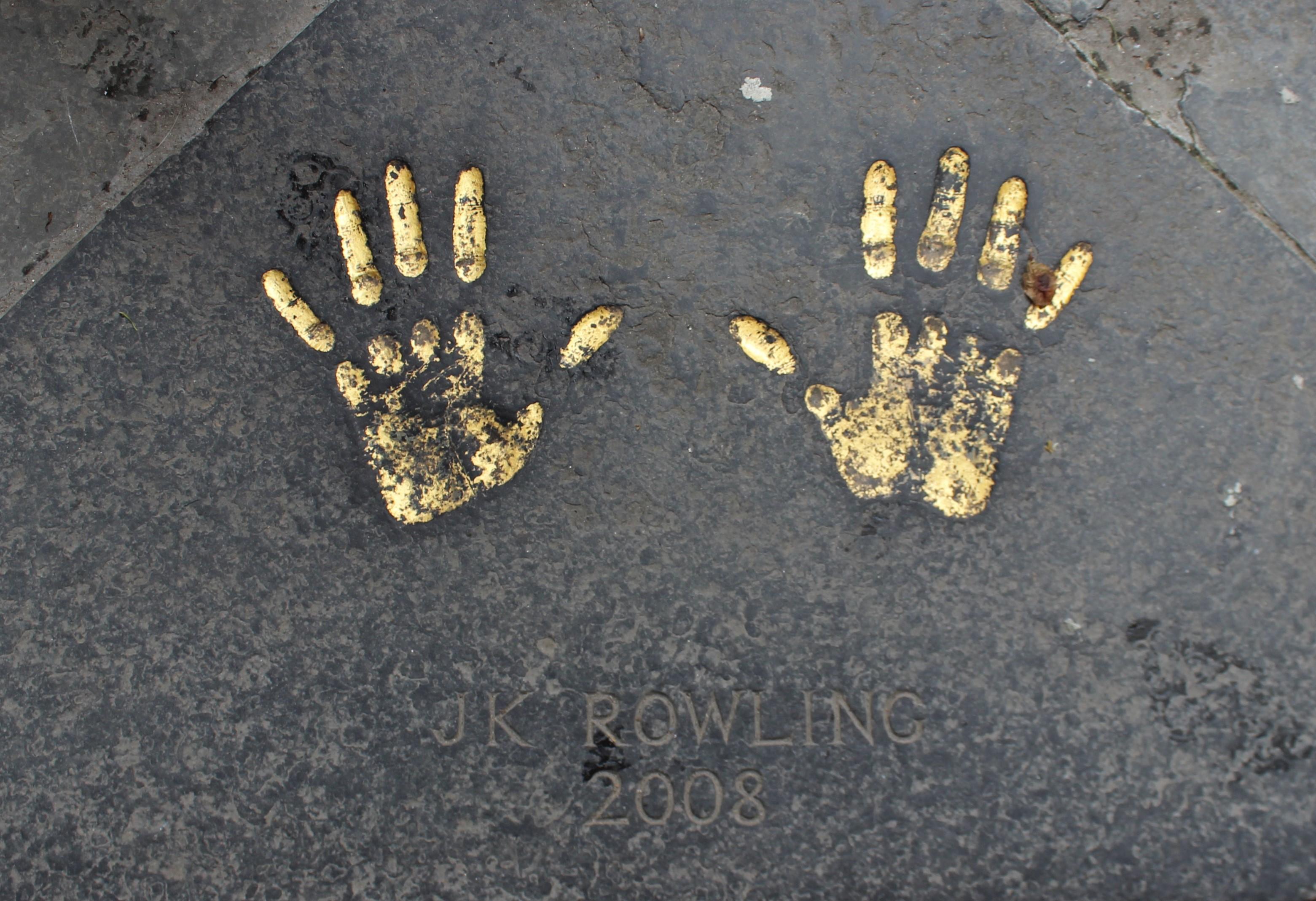 JKローリングの手形