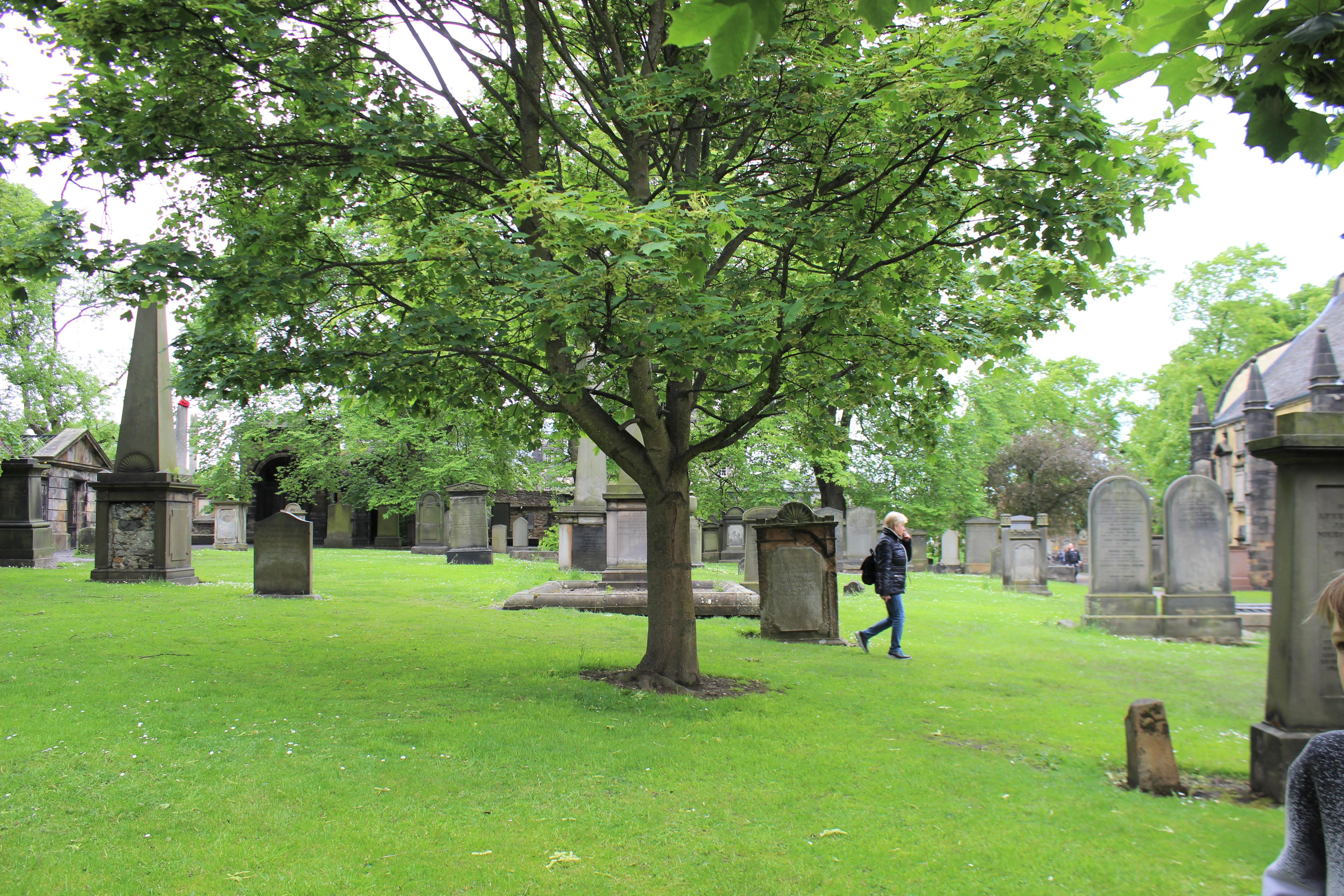 ヴォルテモートが蘇った墓地