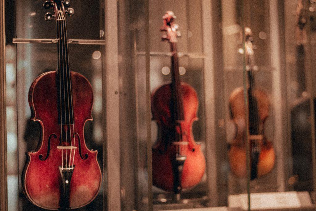 ヴァイオリンを買う