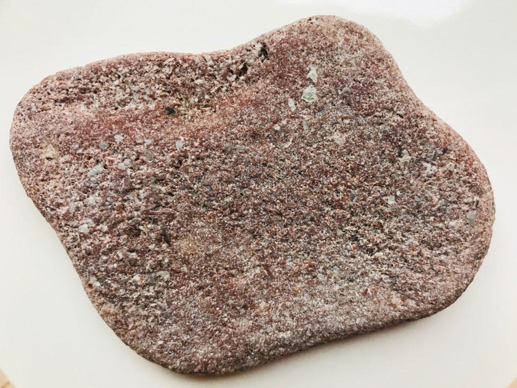 石けん置きにしている天然石