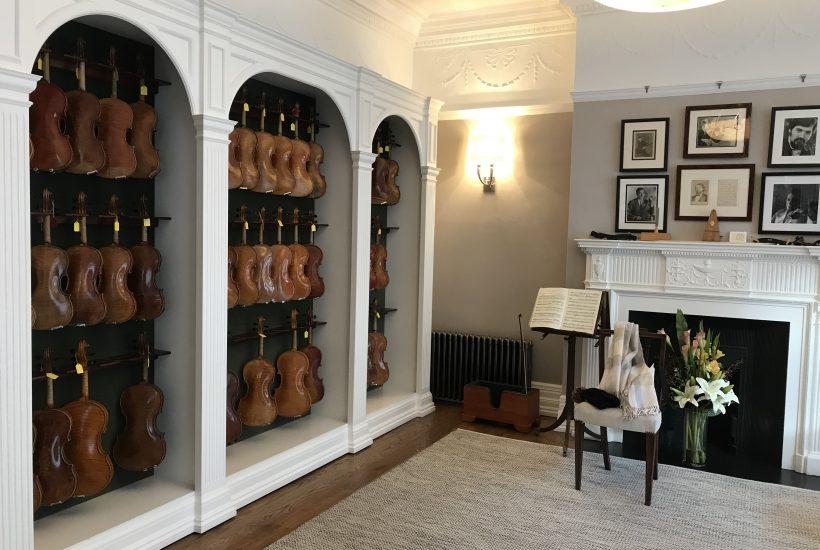 ロンドンでヴァイオリンを買う