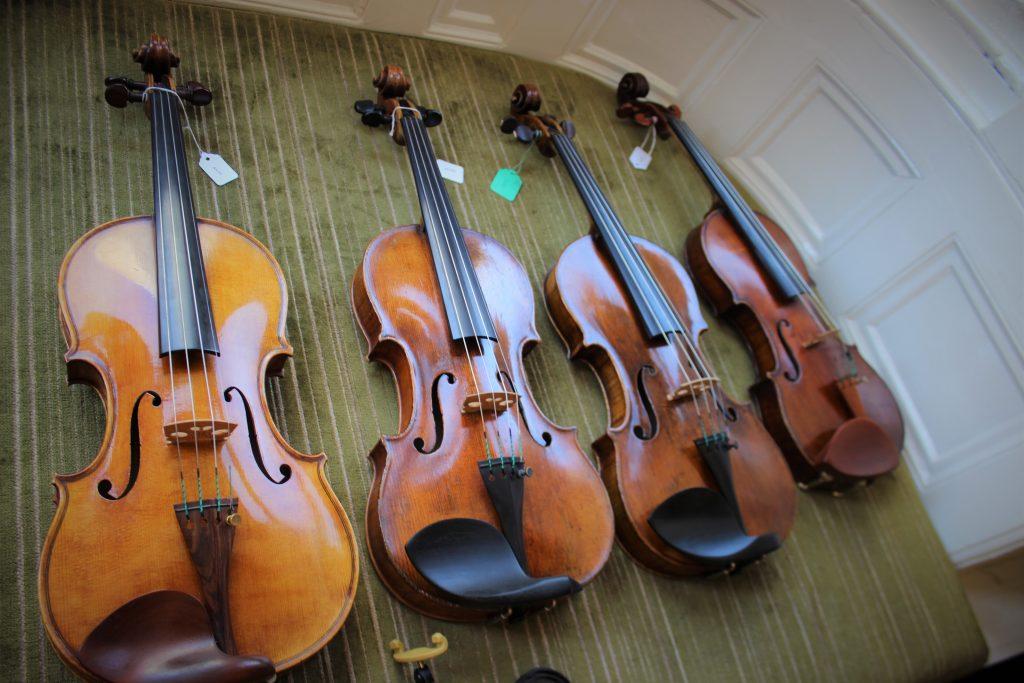 高価なヴァイオリン