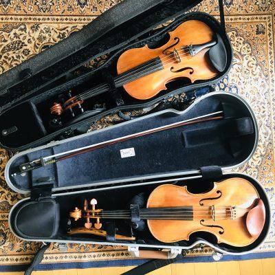 軽量ヴァイオリンケース、BAM vs GEWA