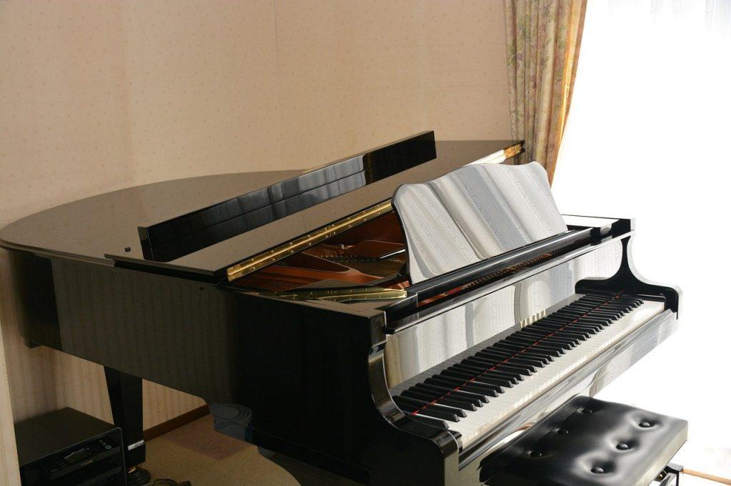 YAHAMAのグランドピアノ